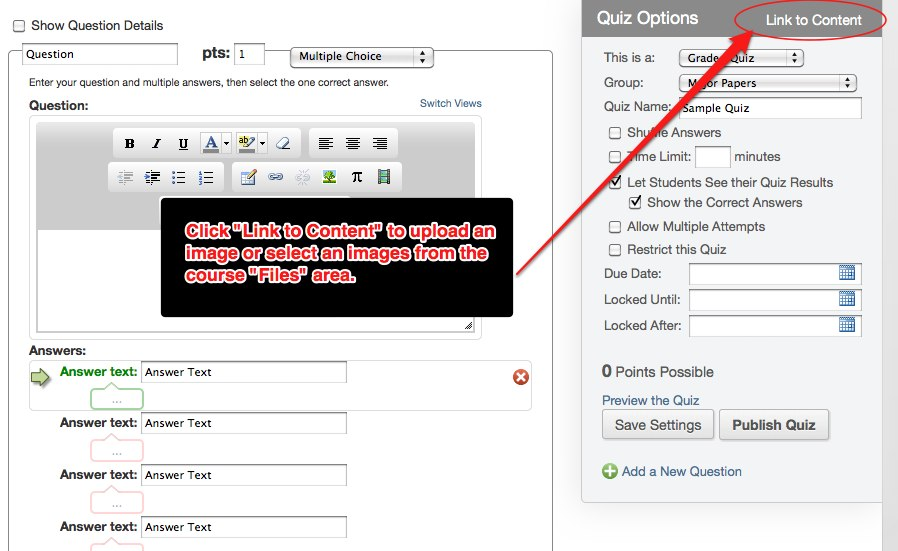 Images in Test Questions « Odds & Ends about Canvas